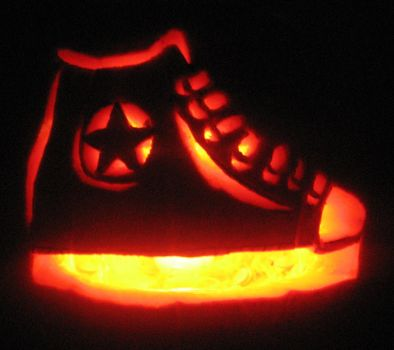 Converse Pumpkin by Absolutely-Jade