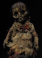 Mummy Art Doll detail by shainerin