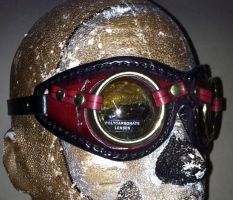 Mask Goggles by Leatherfanshop
