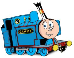 Sammy the Really Useful Shunter by Kodimarto