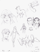 Easter Sketches by StrictlyDickly