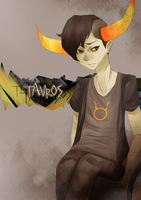 Homestuck - Tavros Nitram by MissCanibal