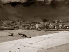 St. Ives Harbour by dollydaydream