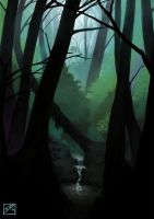Dark Woods by BAproductions