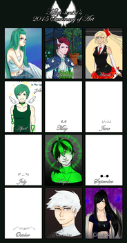 2015 Summary of Art by Hisui-tenshi