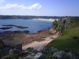 From the Cliffs of Jersey by Anita-Sanderson