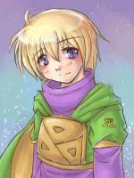 Golden Sun - Ivan2 by seireiseki