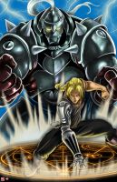 Full Metal Alchemist-Transmute by WiL-Woods