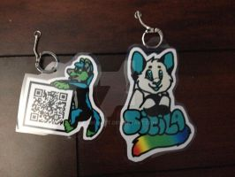 [COMMISSION] Laminated Nerf and Sicila by CassMutt