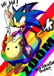 .:SONIC RIDE THE RAINBOW SHEEP:. by Omiza