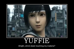 Yuffie Motivational Picture by KittySteele