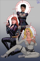 Ladies of SHIELD by Jaja316