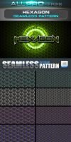 Hexagon Photoshop Pattern Vol.1 by ravirajcoomar