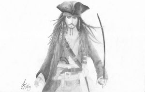 pirate of the caribbean by laurilein