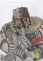 Helghast by johanstorm