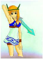 Sophitia Colored by Madelawliet