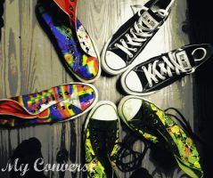 All my Converse by RainbowCartilage