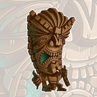 Hang loose Tiki by TraderGino