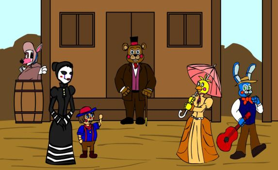 Fnaf Old West 2 by hykez87