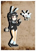 Lapin and sidekick by Carlos-the-G