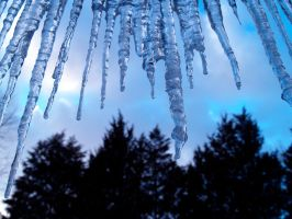 Icicles 3 by Dracoart-Stock