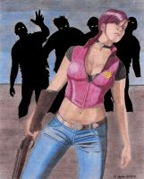 The Valkyrie - Claire Redfield by BGShepard