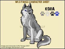 Wild Fangs Sheets_Kora by Tenaga
