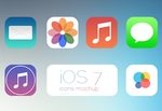 iOS7 Icons v1.2 by wineass