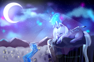 Luna - Broken (MLP) 35 min by AquaGalaxy