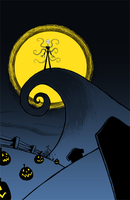 Nightmare Before Slender by StevenRayBrown