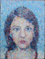 self portrait painting by tiiine