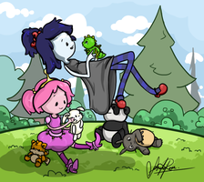 Adventure Time Kids! by Curly-Qs