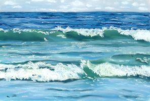 beach waves by classina