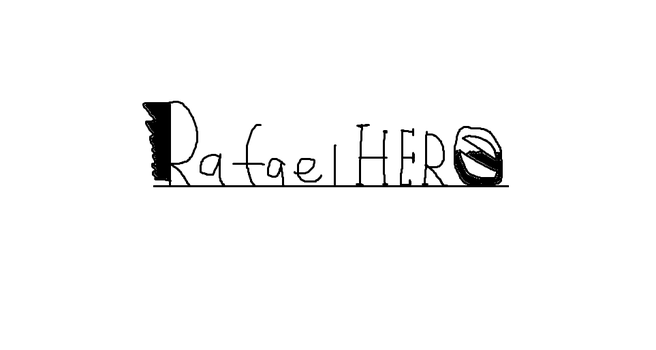 Rafael HERO Early Logo by Rafie1998