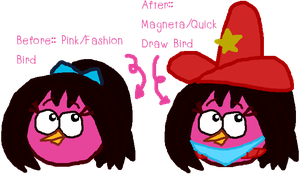 +Redesign of my Angry Birds Character+ by NoahandHaroldsgirl