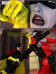 Batgirl Fight 02 by willdial