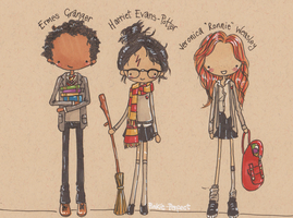 Genderswap Harry Potter by Pinkie-Perfect