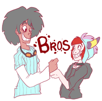Bros by LeeLeeMoreau