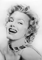 Marilyn Monroe by PortraitLc