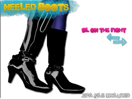 Heeled Boots Download by KagamineLeto