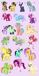 more ponys - point adoptabls by Rain-Approves