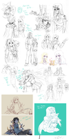 Sketchdump Compilation 3 by Yamineftis