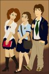 School Pals by Sk8inglioness