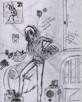 Eyeless Jack's Natural Habitat by Haven-Sollux