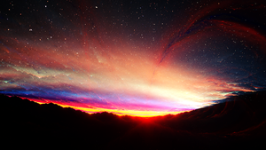 Skybreak (Desktop Wallpaper) by JanRobbe
