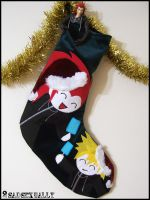 Axel + Roxas Stocking by 2sadsexually