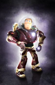Iron Buzz Lightyear by bruno-sousa