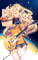 Guitar Girl SeeU by LOYProject