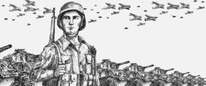 WWII U.S. soldier by chlora