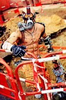 Psycho Krieg Borderlands 2 Cosplay by Leon Chiro by LeonChiroCosplayArt